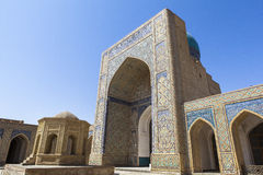 Ancient city of Bukhara in Uzbekistan Stock Photography