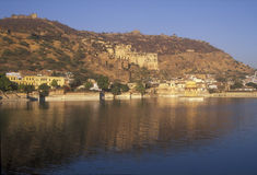 Ancient City of Bundi Stock Images