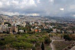 Ancient city of Byblos, Mediterranean coast, Lebanon Stock Photo