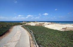 Ancient city Caesarea Royalty Free Stock Photos