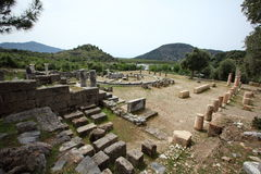 Ancient city of Caunos Royalty Free Stock Photography