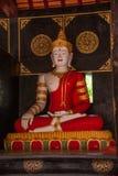 The ancient city of Chiang Mai, Thailand Wat Chedi Luang (Wat Chedi Luang) Piandian pagoda, Buddha Stock Photos