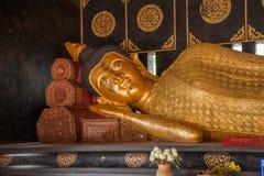 The ancient city of Chiang Mai, Thailand Wat Chedi Luang (Wat Chedi Luang) Piandian pagoda, Buddha Royalty Free Stock Photo
