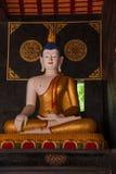 The ancient city of Chiang Mai, Thailand Wat Chedi Luang (Wat Chedi Luang) Piandian pagoda, Buddha Royalty Free Stock Image