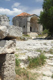 Ancient city of Cufut Qale Stock Photos