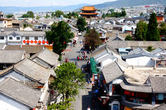 Ancient city, Dali. This picture is ancient city which located in Dali, Yunnan, China Stock Image