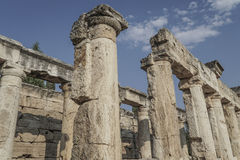 Ancient city in denizli, turkey Stock Photography