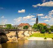 The ancient city of Dresden, Germany. Stock Photography