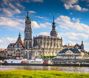 The ancient city of Dresden, Germany. Stock Image