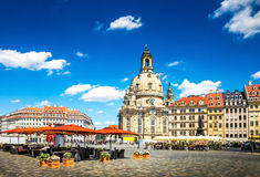 The ancient city of Dresden, Germany. Stock Photos