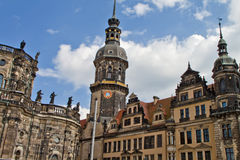 The Ancient City of Dresden ,Germany Royalty Free Stock Photos