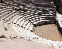 Ancient city ephesus stock photography