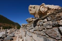 Ancient city of Ephesus Royalty Free Stock Photos