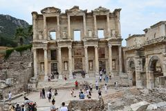 The Ancient City of Ephesus royalty free stock photography