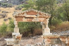 The Ancient City of Ephesus stock images