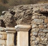 The ancient city of Ephesus Stock Photos