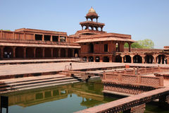 Ancient city of Fatehpur Sikri, India Stock Image