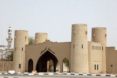 Ancient city gate in Al Ain Royalty Free Stock Photo