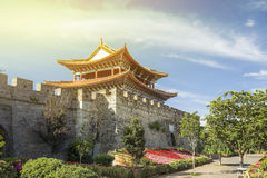 Ancient city gate of Dali old town area ,Yunnan China. Royalty Free Stock Image