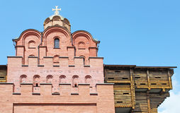 Ancient city gates in Kiev. Ukraine Stock Photo