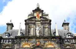 Ancient City Hall in Delft, Netherlands Stock Photography