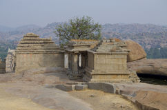 The ancient city of Hampi architecture ruins in India Royalty Free Stock Photo