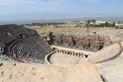 Ancient city of Hierapolis Royalty Free Stock Images