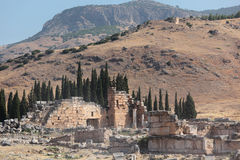 Ancient city of Hierapolis Stock Image