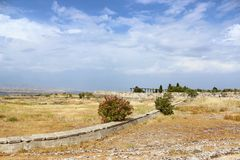 The ancient city of Hierapolis in Turkey Stock Photography
