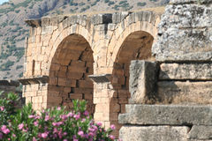 Ancient city of Hierapolis Stock Photo