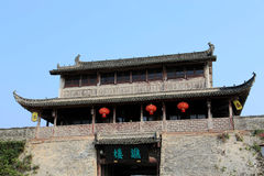 Ancient city of Huizhou, Anhui , china Royalty Free Stock Photos