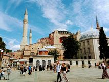 Hayat Sofia!!. Ancient city at Istanbul Stock Images