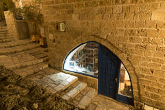 The ancient city of Jaffa at night, Tel Aviv Royalty Free Stock Images
