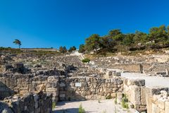 Kamiros, Rhodes. Ancient City of Kamiros, Rhodes, Greece Stock Images