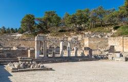 Kamiros, Rhodes. Ancient City of Kamiros, Rhodes, Greece Stock Photography