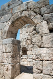 Ancient city of Kaunos, Dalyan valley, Turkey Stock Photo