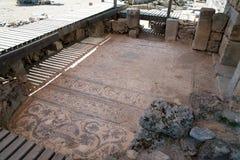 Ancient city of Kaunos, Dalyan valley, Turkey Stock Image