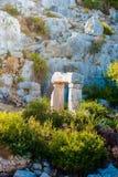 Ancient city in Kekova Royalty Free Stock Image