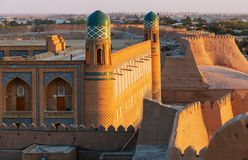 Khiva royalty free stock photo