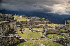 Ancient city of Kuelep. A view from of ancient ruins in Peru Royalty Free Stock Photography