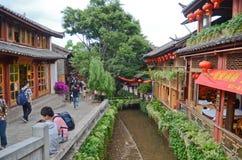 Ancient city of Lijiang , China Royalty Free Stock Photo