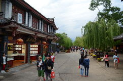 Ancient city of Lijiang , China Royalty Free Stock Photo
