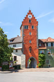 Ancient city Meersburg at lake Bodensee Stock Images