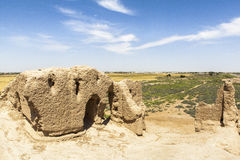 Ancient city of Merv in Turkmenistan Royalty Free Stock Images