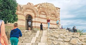 The Ancient City of Nesebar is a UNESCO stock video