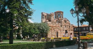 The Ancient City of Nesebar is a UNESCO stock footage