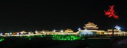 china palace  night scene Stock Images