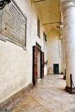 Nardò lecce italy. Ancient city palace antonio salandra square nardò italy royalty free stock photography