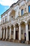 Nardò puglia italy. Ancient city palace antonio salandra square nardò italy royalty free stock photography