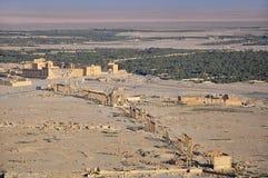 Ancient city of Palmyra Stock Photo